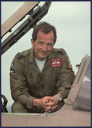 Michael Rondot in Gulf War Jaguar