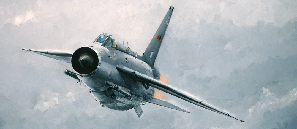 English Electric Lightning  Cold War Jet