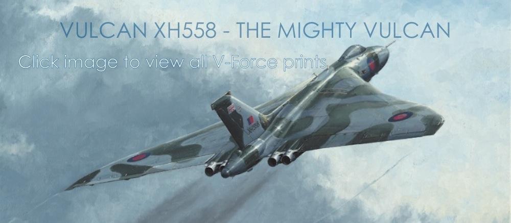 Avro Vulcan XX558