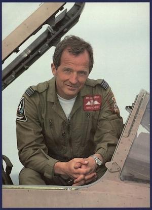 Michael Rondot in Gulf War Jaguar